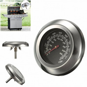 SNNplapla 10~1000¡ãF Degrees Fahrenheit 7.6cm Grill and Smoker Thermometer Temp Gauge Roast Barbecue BBQ