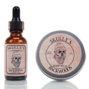 Skully's Backwoods Beard Oil 30ml & Beard Balm 60ml, Beard kit