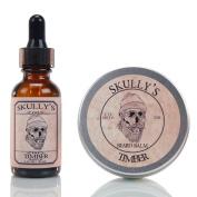 Skully's Timber Beard Oil 30ml & Beard Balm 60ml, Beard kit