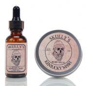 Skully's Kentucky Mash Beard Oil 30ml & Beard Balm 60ml, Beard kit