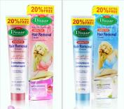 DISAAR Hair Removal Inhibitor Depilatory Cream Best Permanent Speedy Stop 120g