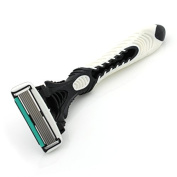 DORCO Razor For Men Pace 6 Shaver Mens Shaving Personal Face Care Stainless Steel Razors Blades With Lubricating Strip