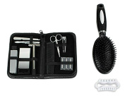 OraCorp Men's Deluxe Home or Travel 13 Piece Grooming Kit