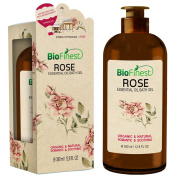 Biofinest Rose Essential Oil Shower Gel - Premium Grade - Natural Romantic Scent - Refreshing and Moisturising - For All Skin