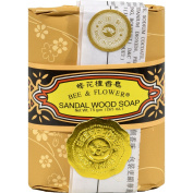Bee and Flower Soap Sandalwood - 80ml - Case of 12