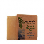 Moringa Soap & Shampoo Unscented emulate Natural Care 150ml Bar Soap