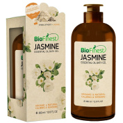 Biofinest Jasmine Essential Oil Shower Gel - Premium Grade - Best For Deep Cleansing and Dry Skins - Refreshing and Moisturising - For All Skin