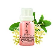 Plant Gift Fragrances Osmanthus Essential Oil (Osmanthus Fragrans) 100% Pure & Natural - Nourish - conditioning female physiology - help cough- Aromatherapy - 0.34OZ / 10ml