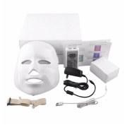 Skineat 7 Colour LED Mask Facial Care Anti-Wrinkle Machine Acne Removal Beauty Spa Device Skin Rejuvenation White Face Masker