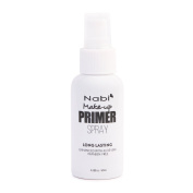 Nabi Cosmetics Makeup Primer Setting Spray Long Lasting Enhanced with Aloe Vera