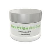 Advanced 2.5 Retinol Wrinkle Cream | 2.5% Retinol + Vitamin E | All-Natural & Organic