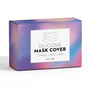 Beauty Logic Reusable Silicon 3D Mask Cover-Increasing Adhesion and Absorptivity of the sheet facial masks & BPA-Free