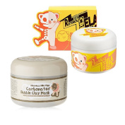 Elizavecca Milky Piggy Carbonated Bubble Clay Mask + Wrinkle care Revitalise EGF Retinol Cream
