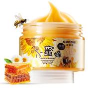 XY Fancy Facial Care Paraffin Milk & Honey Peel Off Face Wax Mask - Exfoliator Deep Cleanse Moisturising Whitening Nourish Peeling Mask - 140g150ml