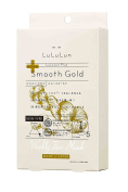 Lululun Plus -Smooth Gold- Mask 30ml/1fl.oz x 5 Sheets