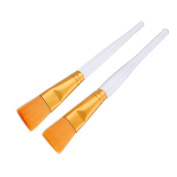 Makartt Mask Brush Applicator Facial Face Brushes for Clay Mud 2Pcs Set Soft Skin Care Sturdy Handle