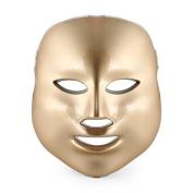 Frcolor 7 Colour LED Mask Photon Light Skin Rejuvenation Therapy Facial Mask Facial Beauty Peels Machine Daily Skin Care Home