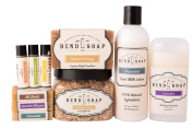Bend Soap Company All Natural Best Seller Bundle – A Great Gift for Yourself or Someone Else – Goat Milk Soap, Bath Soak, Lotion, Deodorant and Lip Balm in One Convenient Package