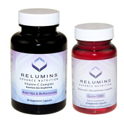 Relumins Advance Nutrition Gluta 1000 And Advance Vitamin C - Max Skin Whitening Complex