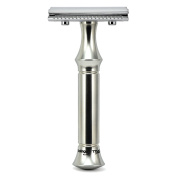 Timor Safety Razor Stainless Steel 80 mm Handle   VINTAGE EDITION   Designed and Made in Germany