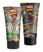 Marvel Comics Hero Duo, Shower Gel, Deodorant Gift Set