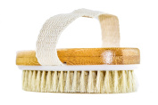 GranNaturals Hand Size Dry Body Brush - Skin and Face - . , Exfoliate Skin, Reduce Cellulite