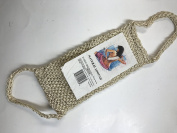Natural Loofah with Handles Back Scrubber