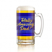 Totally Amazing Dad Beer Tankard Gift Boxed by Gold Edition
