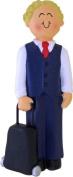 Flight Attendant, Male, Blonde