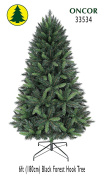 1.8m Eco-Friendly Oncor Black Forest Christmas Tree