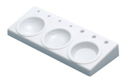 White No Paint Tray & Holder