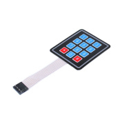 IDUINO Arduino Compatible 3x4 4x3 Matrix Membrane 12 Buttons Control Panel Single-Chip Expansion Keypad