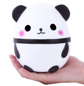 Aolige Squishy Jumbo Cute Panda Kawaii Cream Scented Very Slow Rising Kids Toys Doll Gift Fun Collection Stress Relief Toy Hop Props, Decorative Props Large