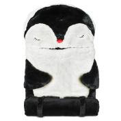 Celebrate Shop Kid's Plush Penguin Sleeping Bag