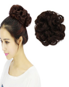 BarRan Scrunchy Scrunchie Bun Updo Hairpiece Hair Ribbon Ponytail Extensions Curly Diverse Colours