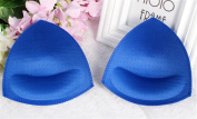 Woop 3 Pairs Breathable And Sweat Absorb Push Up Bra Pads,Enhancement Inserts For Swimwear Sports Bikini Top Yoga top