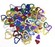 About 1200 Pcs Colourful Sparkle Love Shape Heart Confetti For Home Party