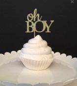 Oh Boy Cupcake Topper