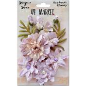 Shimmer & Shine Flowers 3.8cm - 5.1cm 11/Pkg-Lilac Fleur Des Champs