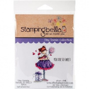 Stamping Bella Cling Stamp 17cm x 11cm -Tiny Townie Sammy Is Sweet