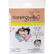 Stamping Bella Cling Stamp 17cm x 11cm -Huggy Squidgies