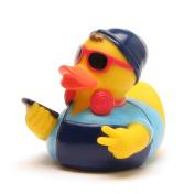 Hipster Rubber Duck blue | DUCKSHOP | Bathduck | L