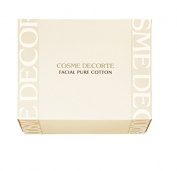 Cosme Decorte Facial Pure Cotton Pads 100 sheets Japan