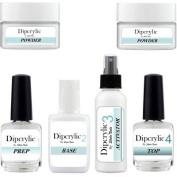 SHEBA NAILS Dipcrylic Dipping Powder Duet Kit W/ Clear & Pink Dipping Powders