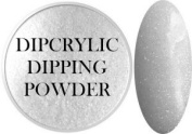 SHEBA NAILS Dipcrylic Dip Dipping Powder - 30ml - Luna (Glow in the Dark) Shimmer White