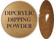SHEBA NAILS Dipcrylic Dip Dipping Powder - 30ml - Rustic Gold