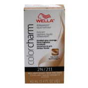WELLA Colour Charm Liquid CrEEme Hair Colour Very Dark Brown 211 1.4oz/42ml by Wella Colour Charm