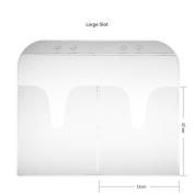 CICI & SISI Stamping Plates Holder Slots Nail Art Stamp Plate Storage Loose-Leaf,Large 20pcs