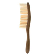 Anself Wooden Hair Comb Texture Massage Comb Hairbrush Anti-static Natural Sandalwood Wood