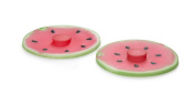 Charles Viancin Silicone Drink Covers 10cm Watermelon - Set of 2